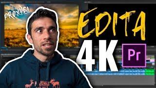 EDITA 4K como si tuvieras un SUPER ORDENADOR [Proxys en Premiere]