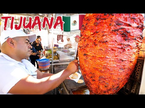 Mexican Street Food 🇲🇽!! ULTIMATE TACOS TOUR 🌮 in Tijuana, Mexico! (Part 1)