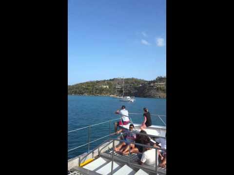Virgin Media boat cruise @ Sandals Antigua 2016
