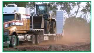 haulmark s outback truckers visit chris stansbie transport roma