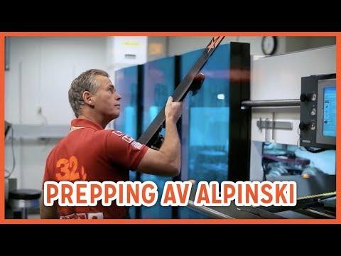 Anton Sport - Slip og prepp av alpinski