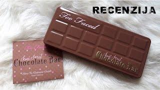 Foto i video recenzija: Too Faced Semi Sweet Chocolate Bar paleta!
