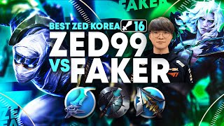 #1 Zed KOREA Meets FAKER VIEGO! *THIS IS WHAT 10,000 + Hours of ZED LOOKS LIKE!*