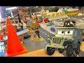 Cars 3 Toys Hunt - Sarge Surplus Hut in Cars Land Disneyland California Tour for Kids 🔴 Live Show