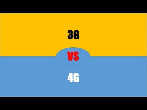 Difference Between 3G And 4G  |  3G Vs 4G