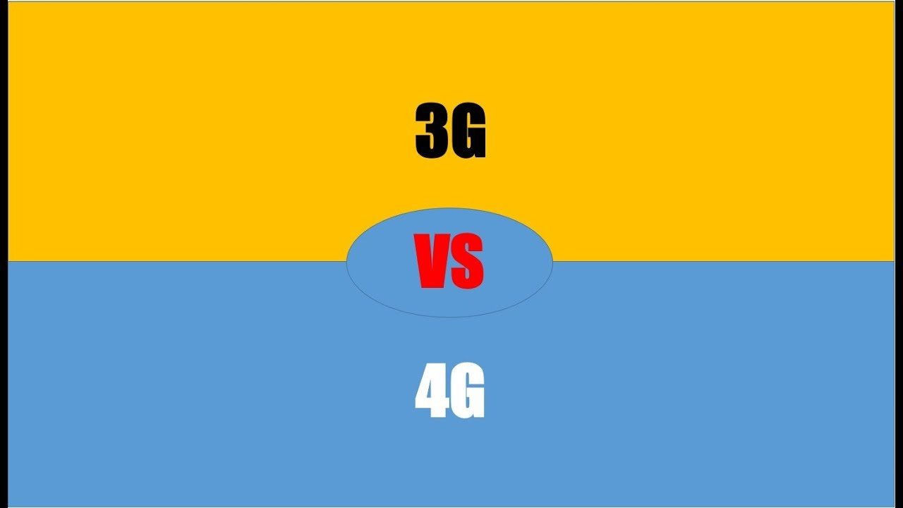 Difference Between 3G and 4G   3G vs 4G - YouTube