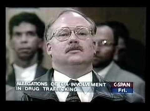 Former LA Police Officer Mike Ruppert Confronts CIA Director John Deutch on Drug Trafficking