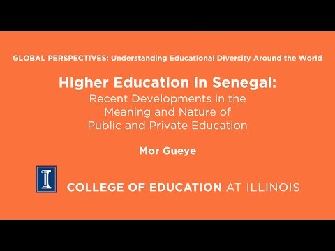 Higher Education in Senegal
