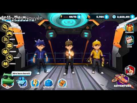 Boboiboy Galactic Heroes #44 - Adventure Mode And PVP (Android Gameplay)