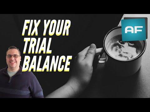 Fix Trial Balance Errors: 3 Tips To Correct An 'Unbalanced' Trial Balance