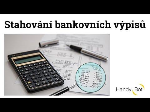Stahování bankovních výpisů