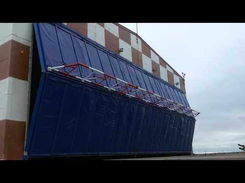 видео: Подъемно-складчатые ворота