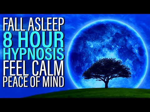8 Hour Hypnosis for Sleep with Calm Inner Peace of Mind