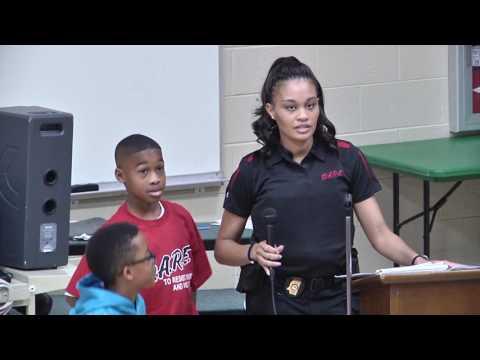 Vicksburg Intermediate School DARE Celebration