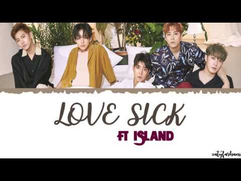 FTISLAND - Love Sick (사랑앓이) ft Kim Na Young Lyrics [Color Coded_Han_Rom_Eng]