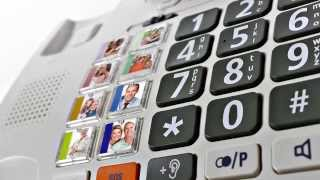 Produktvideo zu Schwerhörigen-Telefon Humantechnik Scalla 3 Combo