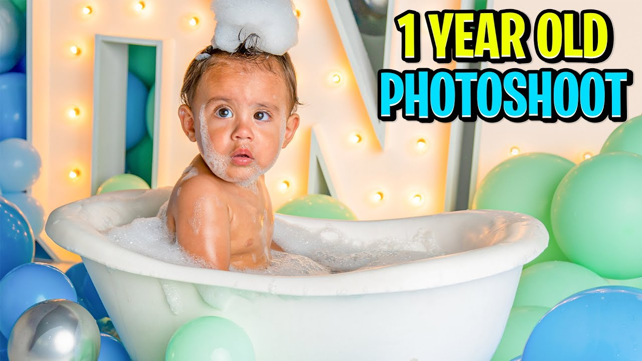 Baby Milan's 1 YEAR OLD PHOTOSHOOT! (So Adorable) | The Royalty Family