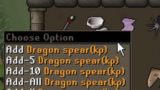 Dragon spear = new currency? Deadman mode