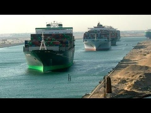 Ships Collision in Suez Canal