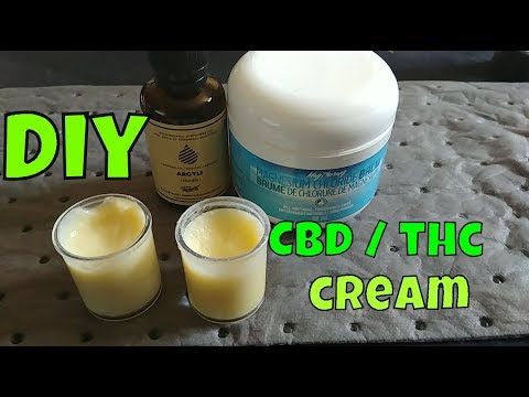 Download Easy DIY CBD THC Infused Cannabis Cream |  Legal CBD Pain Relief Topical