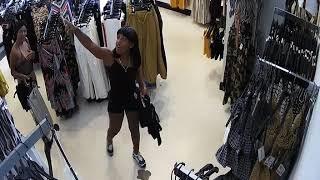 Shoplifting.