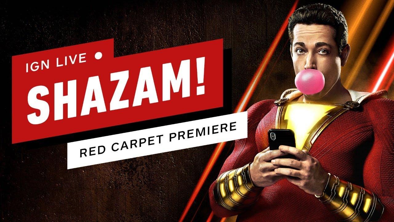 Ver Shazam! Live From the Red Carpet! – IGN Live en Español