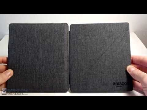 CaseBot Case Review for Kindle Oasis 2 + Amazon Cover Comparison