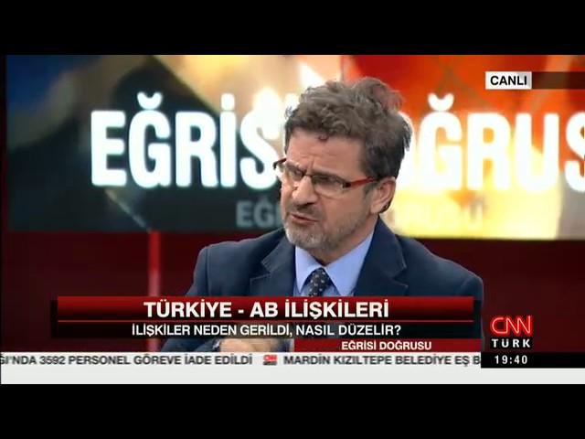 TÜSİAD Uluslararası Koordinatörü Dr. Bahadır Kaleağası CNNTürk Eğrisi Doğrusu Programına konuk oldu