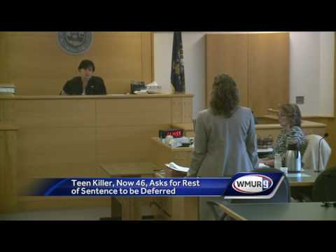 Man convicted of murder asks for sentence deferral