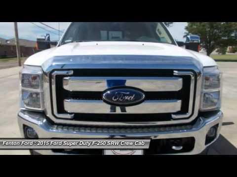 2015 Ford Super Duty F 250 Srw Dumas Tx Fed53330 Youtube