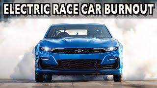 Electric Powered Burnout: Chevrolet Camaro eCOPO Concept Race Car on Everyman Driver