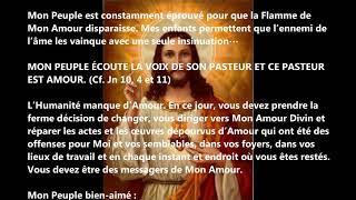 FIN DES TEMPS  MESSAGE DE JESUS 2018 A LUZ DE MARIA 29 MARS JESUS REVIENS