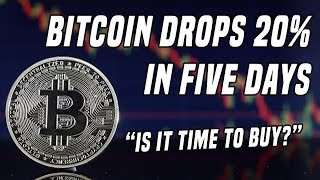 Bitcoin Drops 20% In Five Days   Will Crypto Awareness Carry Us Higher?