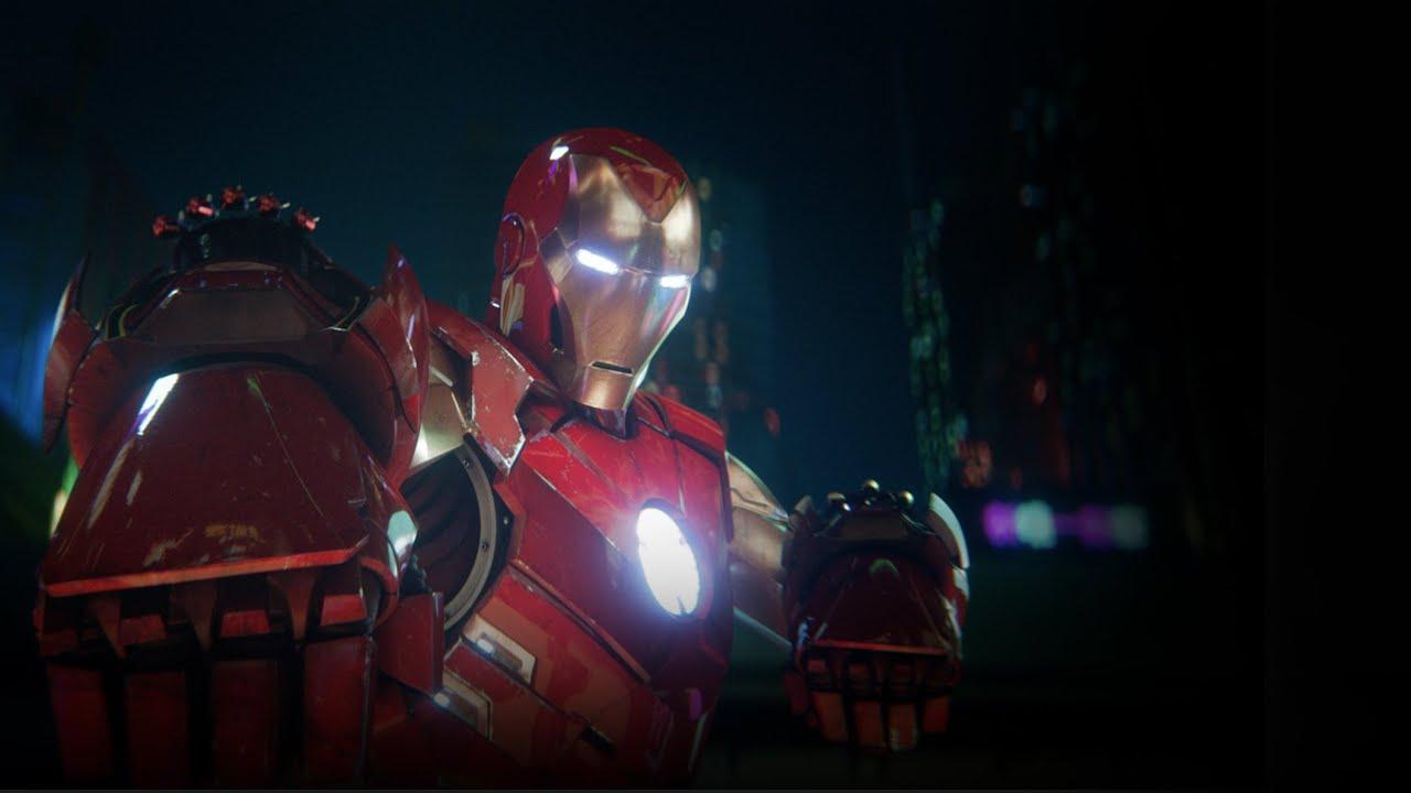 PS VR    Marvels Iron Man VR - 위대함을 준비하라