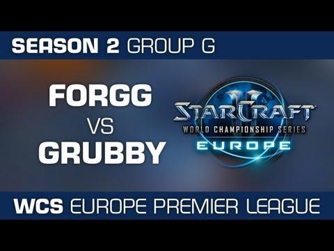 Grubby vs. ForGG - Group G Ro32 - WCS European Premier League - StarCraft 2