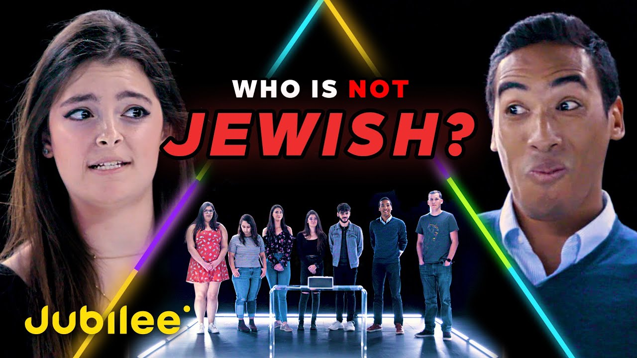 6 Jewish People vs 1 Secret Non-Jewish Person | Odd Man Out