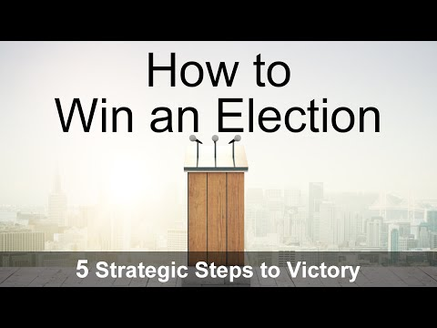 How To Win An Election Masterclass: 5 Strategic Steps to Victory