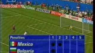 Bulgaria Mexico penalties