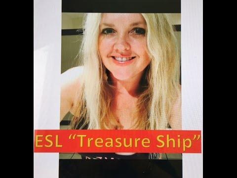 """ESL Reading Practice: """"Treasure Ship"""""""