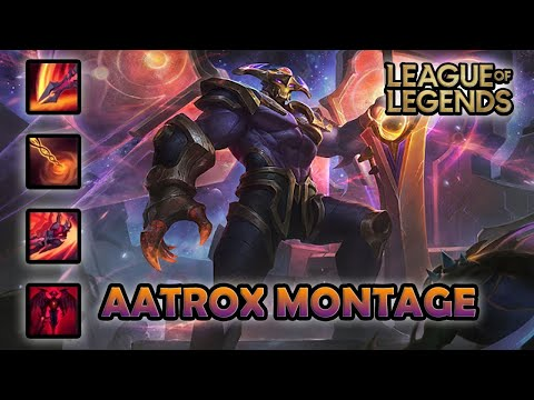 AATROX MONTAGE - Best Gameplay | Odyssey Aatrox Skin | League of Legends