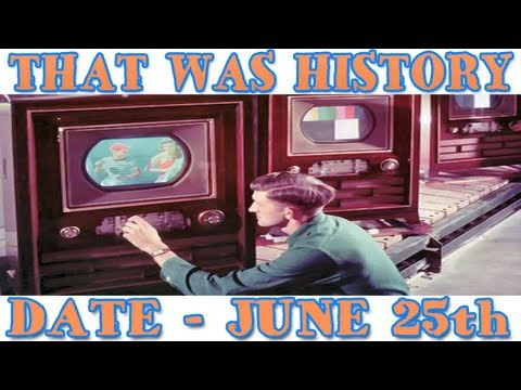 Today In History  A First In Color Television