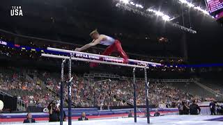 Sam Mikulak Parallel Bars | Team USA Champions Series Presented By Xfinity