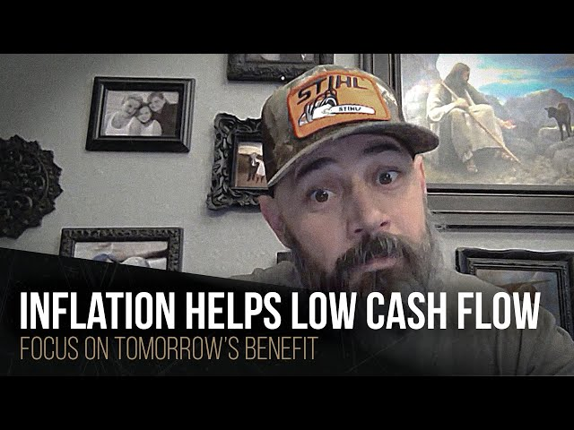 Inflation helps low cash flow