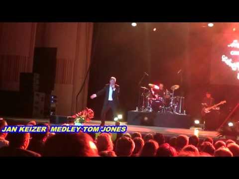 BZN - JAN KEIZER- MEDLEY TOM JONES  - Live Bucharest Romania - 10.10.2015 by Geo