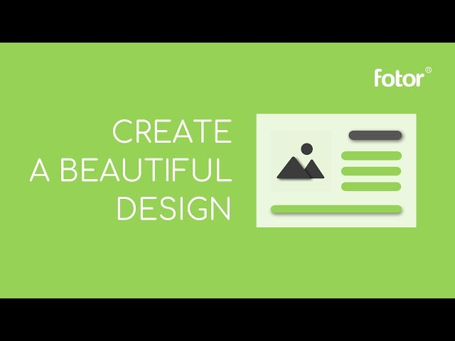 How To Create Beautiful Graphics With Fotor  (2018 update)