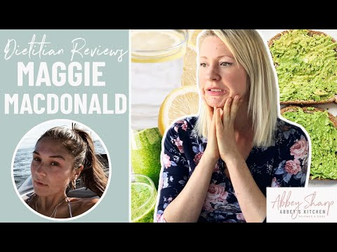 Dietitian Reviews Maggie MacDonald FOOD COMBINING What I Eat In A Day