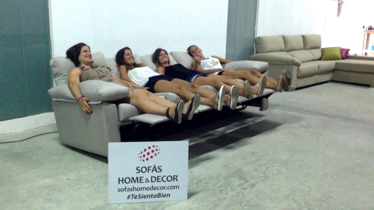 sof relax 4 asientos de sof s home decor youtube. Black Bedroom Furniture Sets. Home Design Ideas