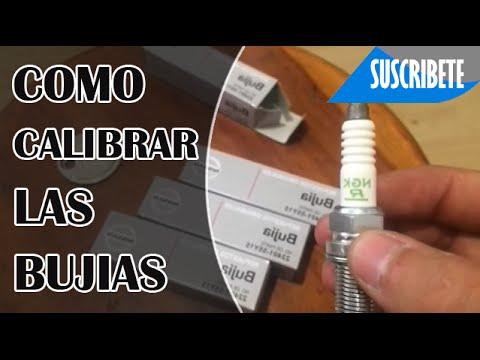 COMO CALIBRAR LAS BUJIAS - YouTube