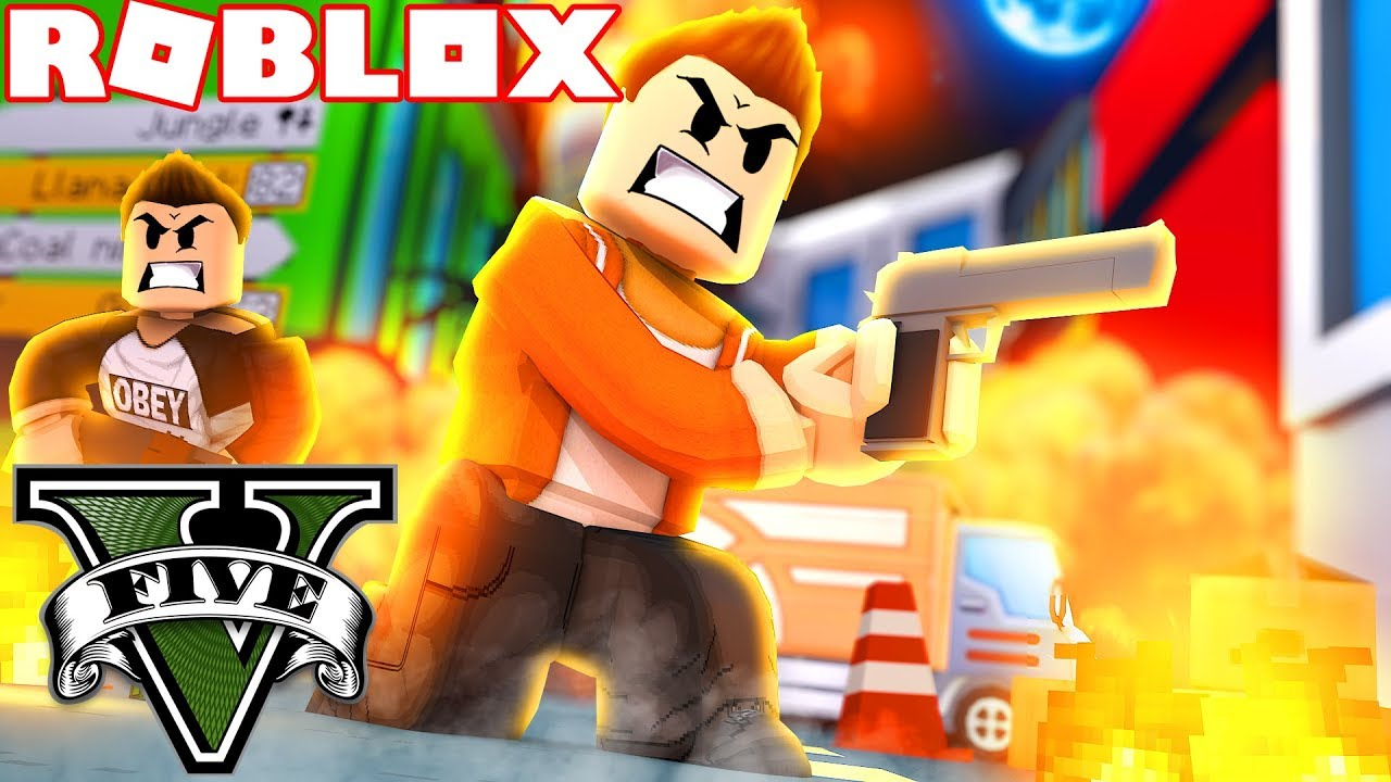 Starting A War In Roblox Gta 5 Roblox Grand Theft Auto 5 Youtube