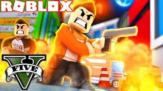 STARTING A WAR IN ROBLOX GTA 5! (Roblox Grand Theft Auto 5)